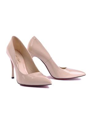 Туфли бежевые | 4756606