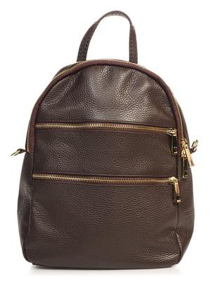Рюкзак темно-коричневий | 4760421