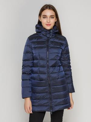 Пальто темно-синее | 4653017