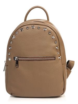 Рюкзак бежевый | 4760428