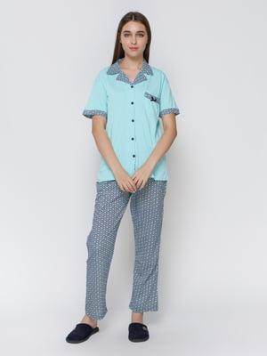 Піжама: сорочка і штани | 4760507