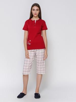 Пижама: футболка и капри | 4760520