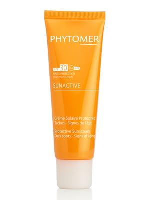 Солнцезащитный крем для лица и тела SPF 30 (50 мл) - Phytomer - 3783299