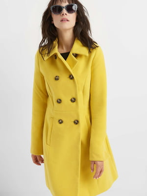 Пальто жовте | 4677711