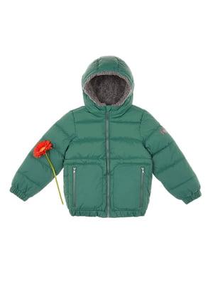 Куртка зелена | 4624253
