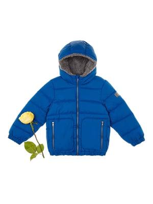 Куртка синя | 4624255