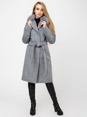 Пальто темно-сіре   4761831