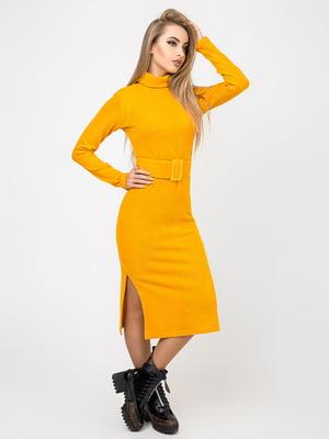 Платье горчичного цвета | 4761844