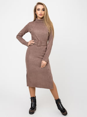 Платье цвета какао | 4761846
