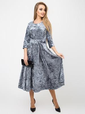 Платье серое | 4761852