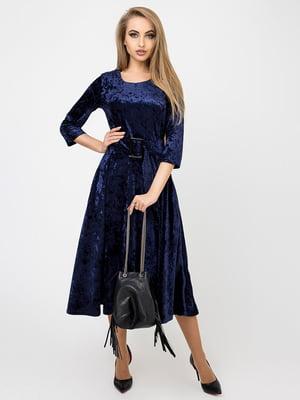 Платье синее | 4761853