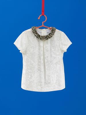 Блуза біла | 4761646