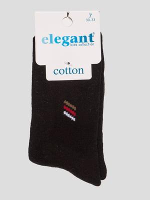 Шкарпетки чорні махрові | 4760527