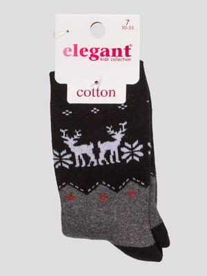Шкарпетки чорні махрові | 4760532
