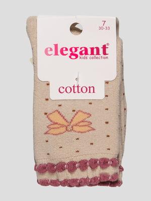 Шкарпетки махрові бежеві | 4760534