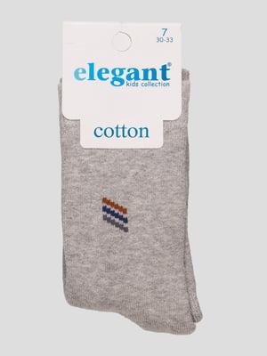 Шкарпетки сірі махрові | 4760526