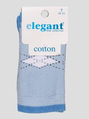 Шкарпетки блакитні махрові | 4760522