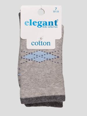 Шкарпетки сірі махрові | 4760523