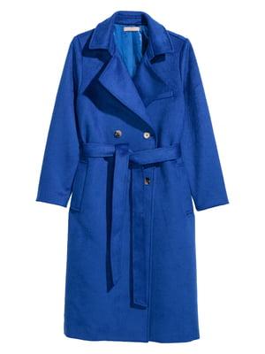 Пальто синее | 4733459
