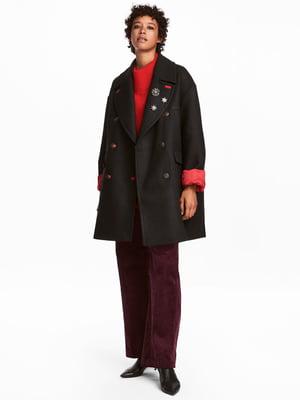 Пальто черное | 4733534