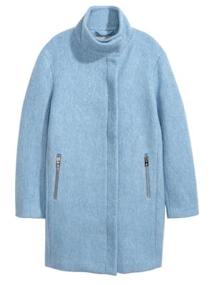 Пальто голубое | 4733550