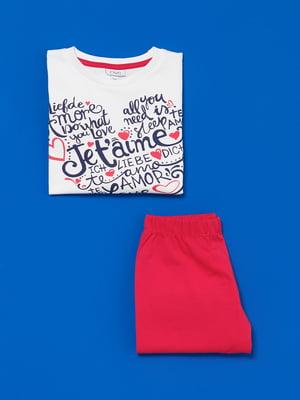 Піжама: лонгслів і штани | 4582161