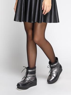 Ботинки темно-серые | 4743624