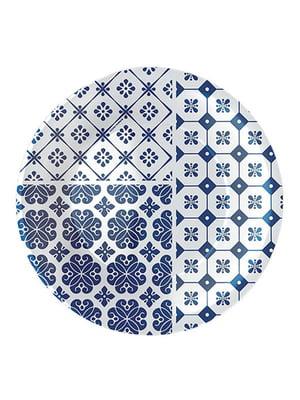 Тарілка десертна (21 см) Vietri blue | 4266450