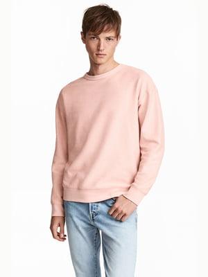Свитшот светло-розовый | 4730561