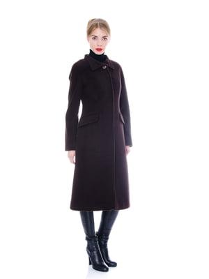 Пальто коричневе | 4705222