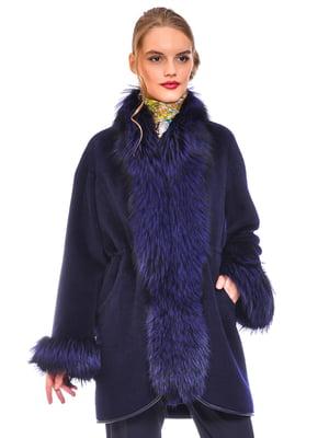Пальто синє | 4739367