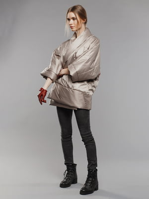 Куртка бежева | 4705118