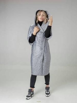 Пальто сіре | 4721014