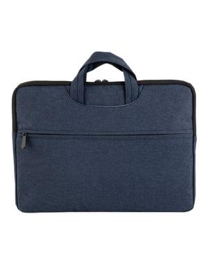 Сумка-чехол для ноутбука синяя | 4762017