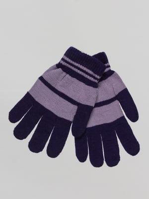 Перчатки двухцветные | 4655260