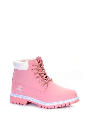 Ботинки розовые | 4763136