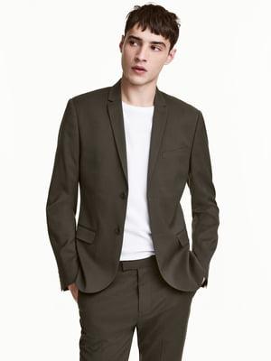 Пиджак цвета хаки | 4761924