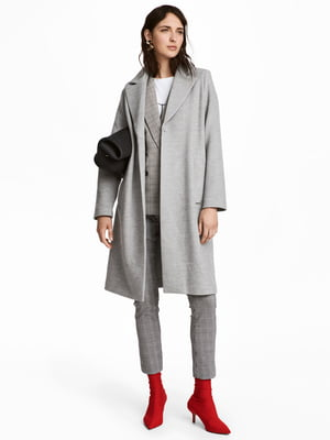 Пальто серое | 4761933