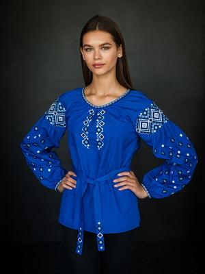 Вишиванка синя | 4762968