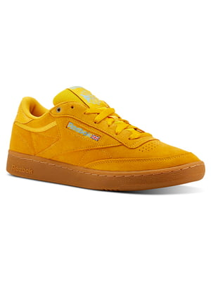 Кроссовки горчичного цвета | 4583560