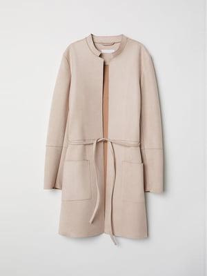 Пальто бежевое | 4763603