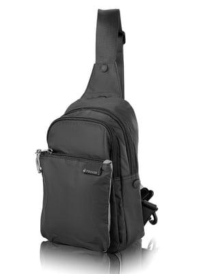 Сумка-рюкзак чорна | 4724189