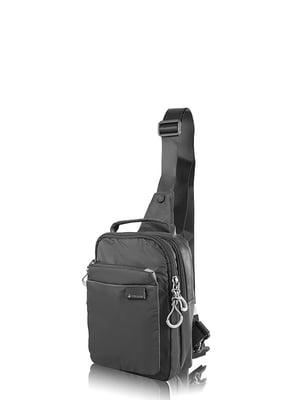 Сумка-рюкзак чорна | 4724193