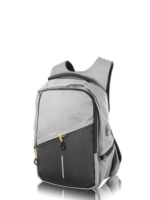 Рюкзак черно-серый | 4724206