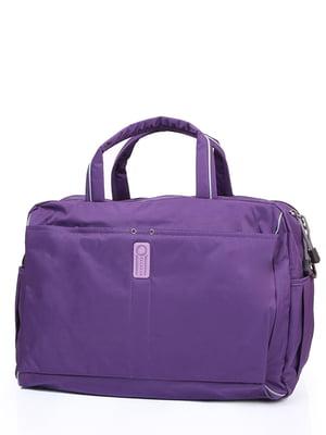 Сумка дорожная фиолетовая | 4724219