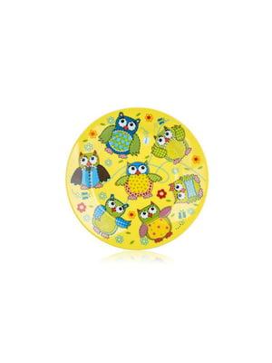 Тарелка десертная (20 см) Owls | 4641832