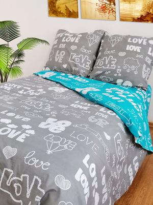 Комплект постельного белья двуспальный | 4764668