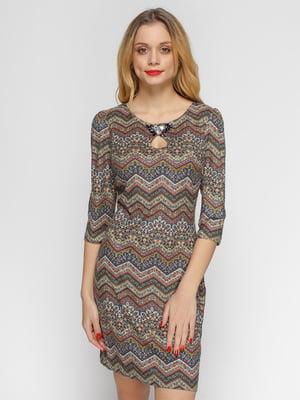 Сукня абстрактного забарвлення - Ciolla - 4764302