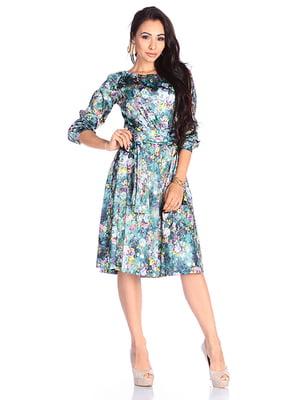 Платье в принт | 4765507