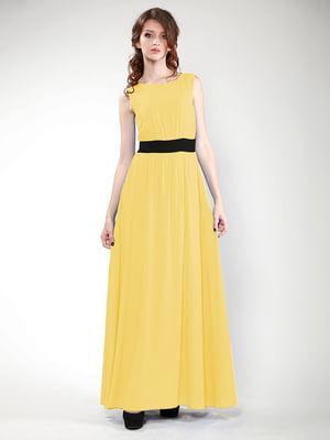 Платье желтое | 4767124